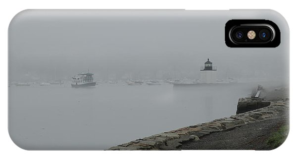Coming Out Of The Fog IPhone Case