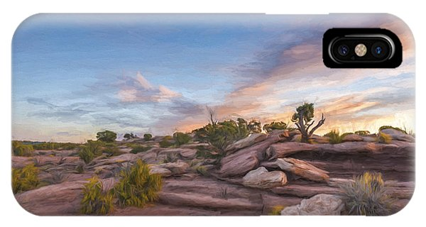 Granite iPhone Case - Coming Together II by Jon Glaser