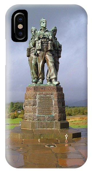 Commando Memorial IPhone Case
