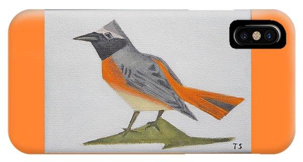 Common Redstart IPhone Case