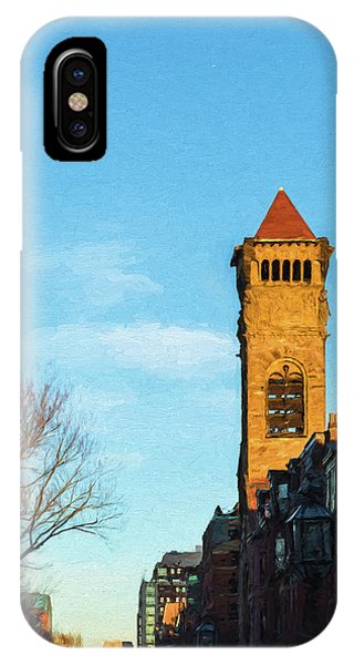 Commonwealth Avenue In Boston IPhone Case