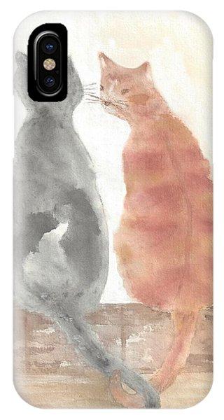 Companion Cats IPhone Case
