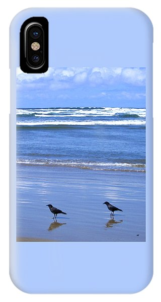 Companion Crows IPhone Case