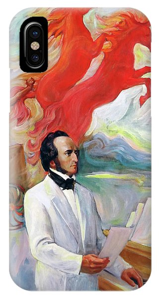 Composer Felix Mendelssohn IPhone Case