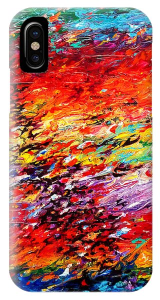 Composition # 6. Series Abstract Sunsets IPhone Case