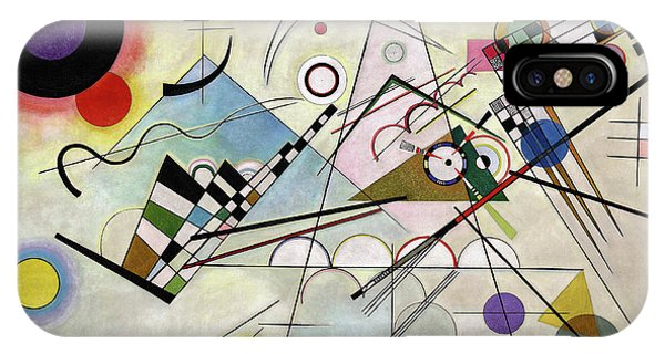 Office iPhone Case - Composition 8 by Wassily Kandinsky