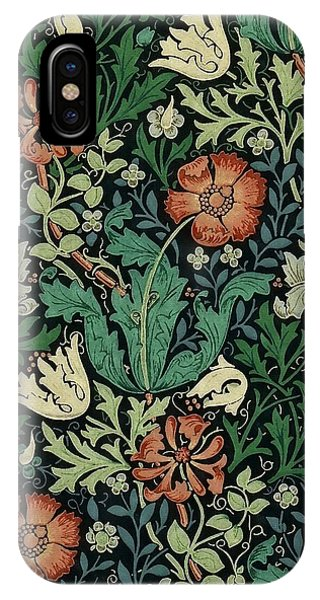IPhone Case featuring the painting Compton by William Morris
