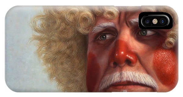 Blond iPhone Case - Concerned by James W Johnson