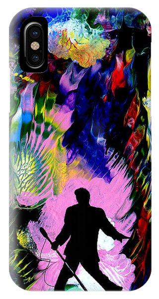 Concert In The Park IPhone Case