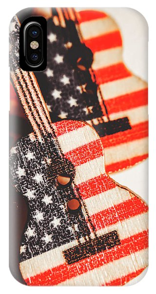 Rock And Roll Art iPhone Case - Concert Of Stars And Stripes by Jorgo Photography - Wall Art Gallery