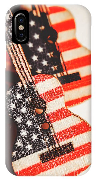 Stars And Stripes iPhone Case - Concert Of Stars And Stripes by Jorgo Photography - Wall Art Gallery