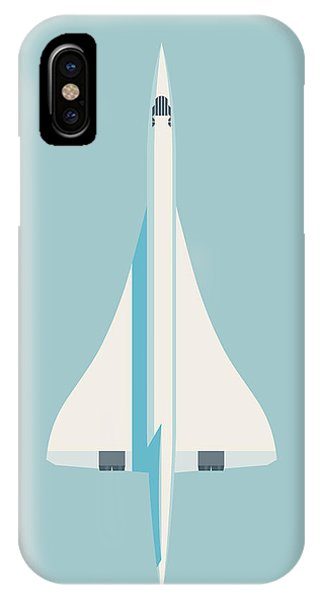 Concorde iPhone Case - Concorde Jet Airliner - Sky by Ivan Krpan