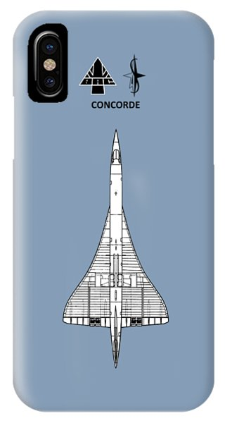 Concorde iPhone Case - Concorde by Mark Rogan