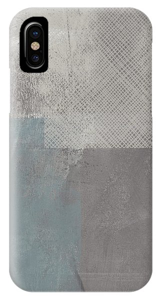 Industrial iPhone Case - Concrete 3- Contemporary Abstract Art By Linda Woods by Linda Woods