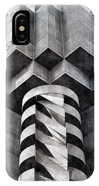 Concrete Geometry IPhone Case