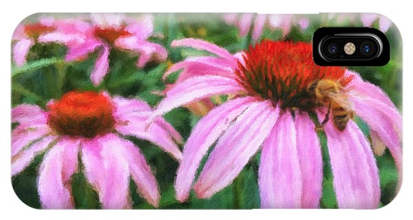 Simple iPhone Case - Coneflowers by Jonathan Nguyen