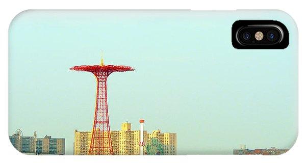 Coney Island Amusement Park IPhone Case