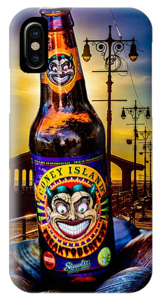 IPhone Case featuring the photograph Coney Island Beer by Chris Lord
