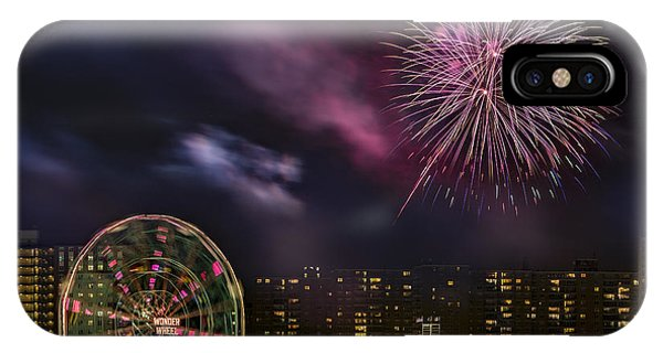 Coney Island Fireworks IPhone Case