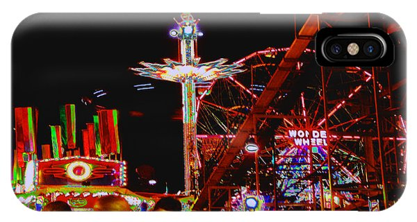 Coney Island Opening Day In Brooklyn New York IPhone Case