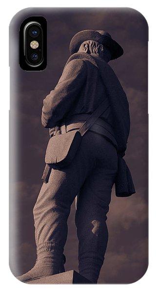 Confederate Statue IPhone Case