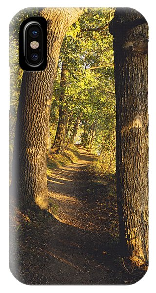 Conference Point Path - Lake Geneva Wisconsin IPhone Case