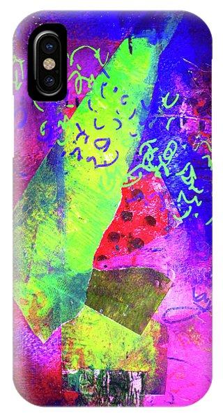 Violet iPhone Case - Confetti by Nancy Merkle