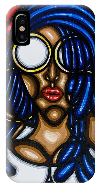 IPhone Case featuring the painting Confidence  by Aliya Michelle