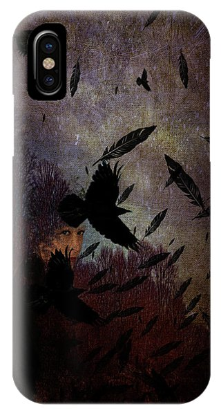 Conflict Of The Crows IPhone Case