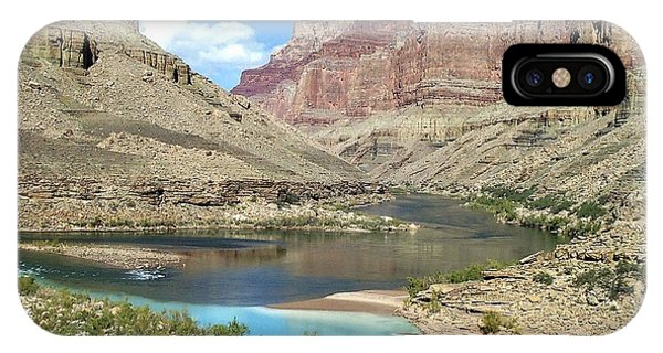 Confluence Of Colorado And Little Colorado Rivers Grand Canyon National Park IPhone Case
