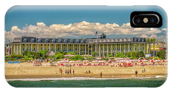 Congress Hall In Cape May IPhone Case