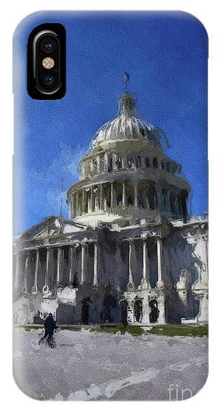 Capitol iPhone Case - Congress, Washingto Dc by Mary Bassett