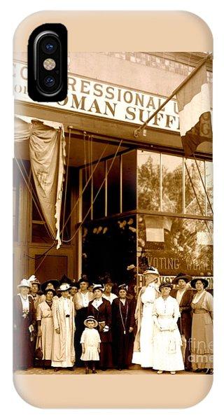 Congressional Union For Woman Suffrage Colorado Headquarters 1914 IPhone Case