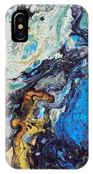 IPhone Case featuring the painting Conjuring by Robbie Masso