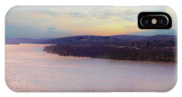 Connecticut River View From Gillette Castle. IPhone Case