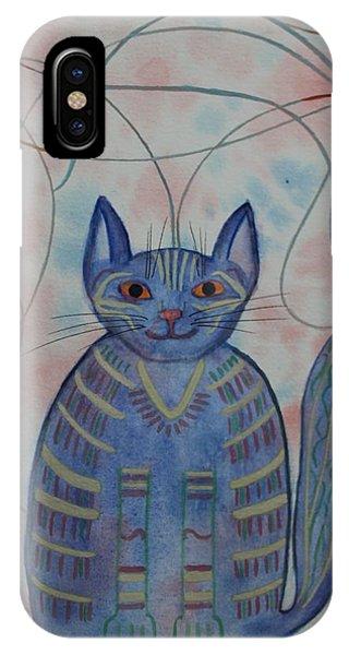 Connection Cat  IPhone Case