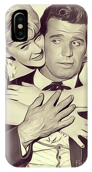 Rockford iPhone Case - Connie Stevens And James Garner by John Springfield