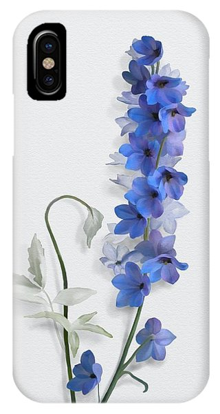 IPhone Case featuring the painting Consolida by Ivana Westin