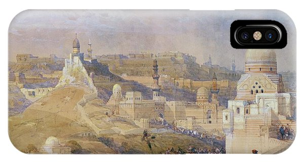Camel iPhone Case - Constantinople by David Roberts