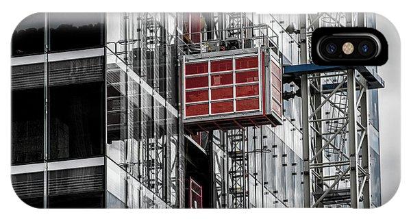 Construction Season Begins - Skyscraper - Utah IPhone Case