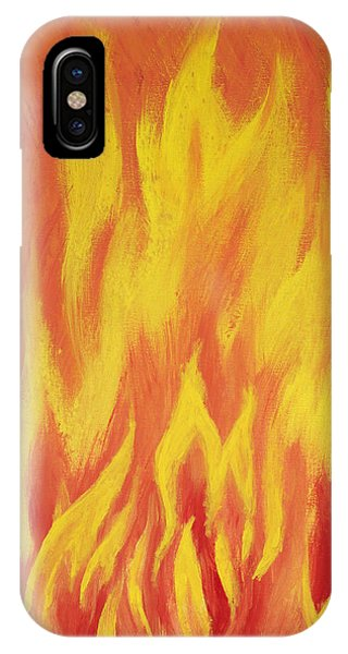 Consuming Fire IPhone Case
