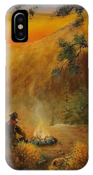 Contemplating The Journey IPhone Case
