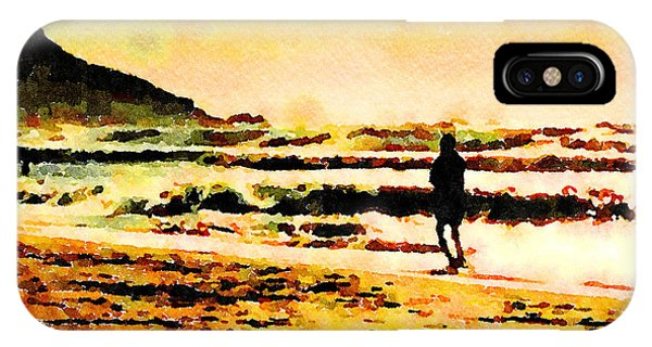 IPhone Case featuring the painting Contemplation by Angela Treat Lyon