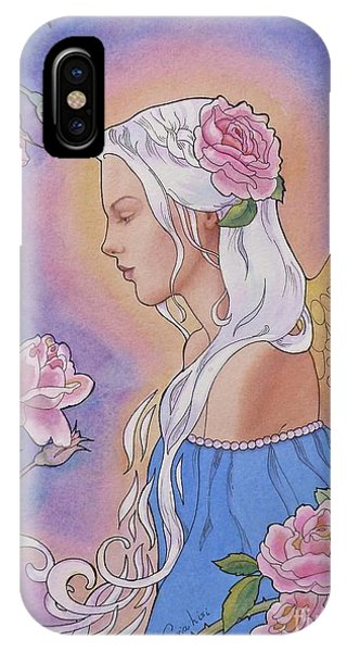 Contemplation Of Beauty IPhone Case