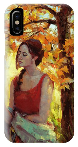 Figurative iPhone Case - Contemplation by Steve Henderson