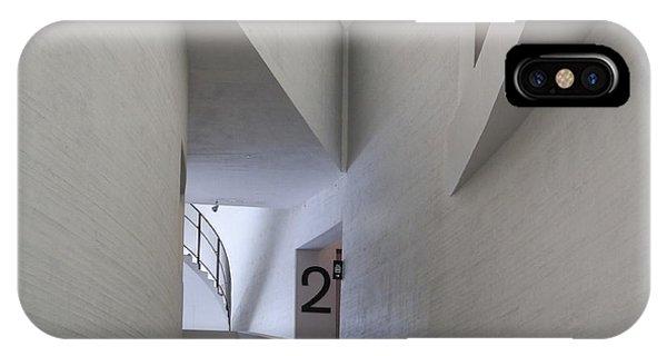 Contemporary Art Museum Interior IPhone Case