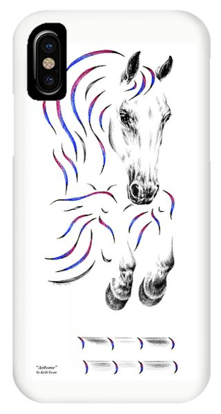 Contemporary Jumper Horse IPhone Case