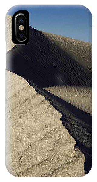 Desert iPhone X Case - Contours by Chad Dutson