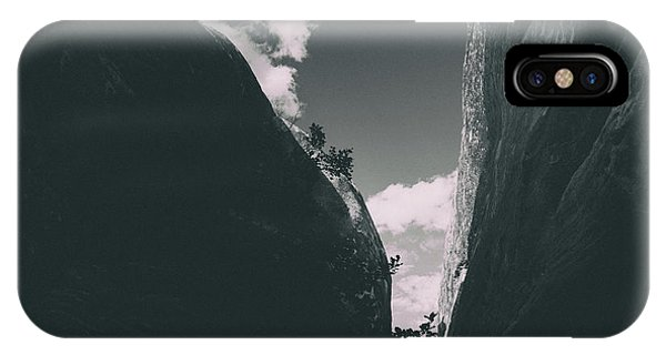 Contours Of Canyons IPhone Case