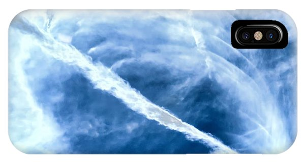Contrail Concentricities IPhone Case